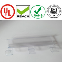 plastic extrusion clip strip for supermarket display purpose