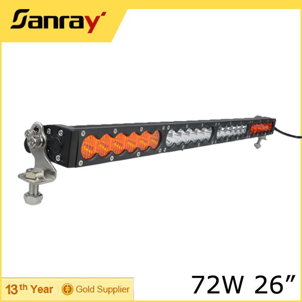 Super Bright <strong>Crees</strong> Off Road LED Light Bar 26 Inch Front Bumper LED Driving Light Bar