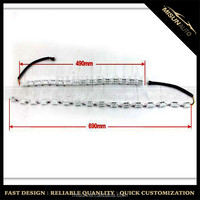 Crystal DRL light Car eyebrow white blue toyota daytime running light