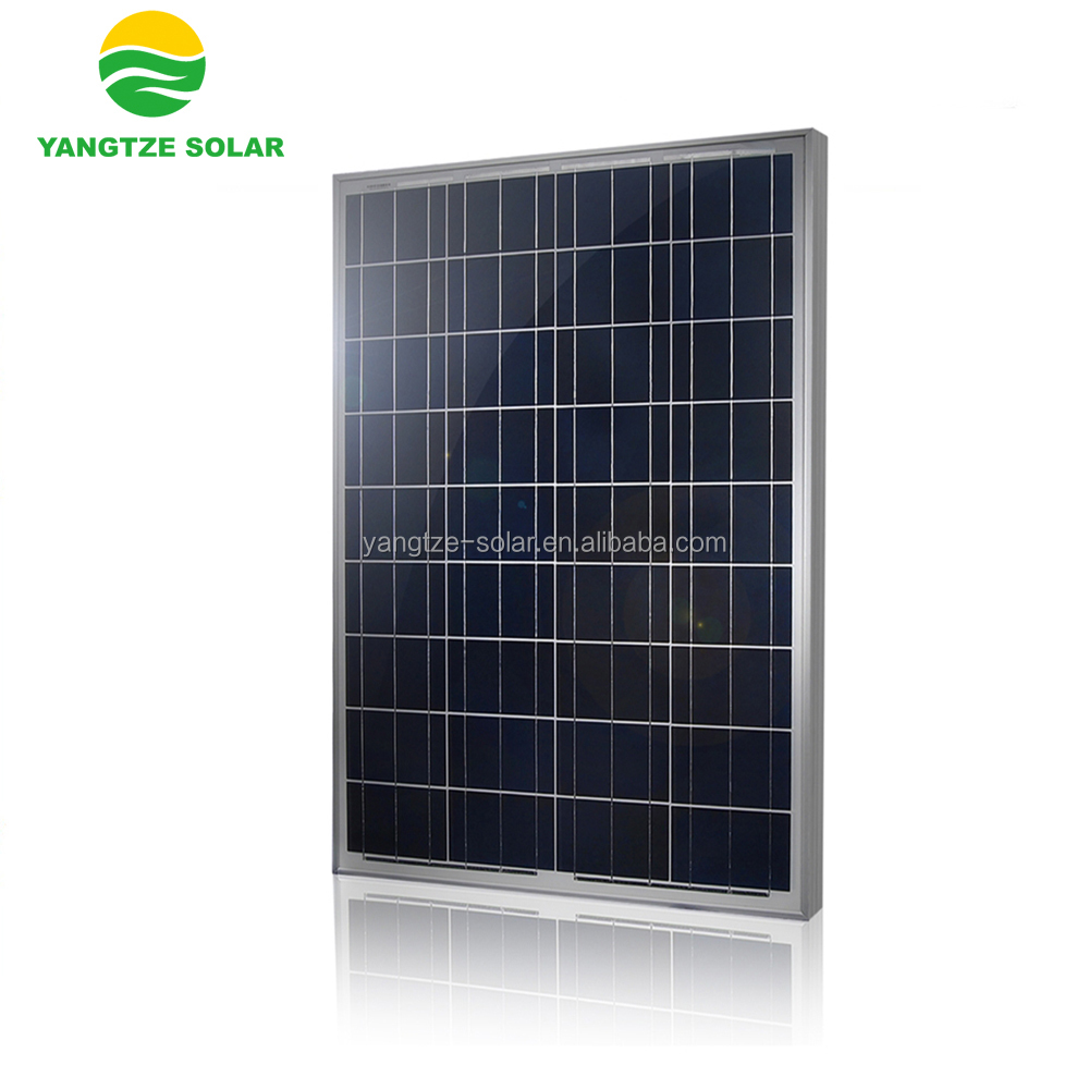China factory 80w 90w 100w 12v dc solar photovoltaic panels