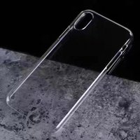 2017 new arrival clear cover case for iphone 8 transparent tpu case