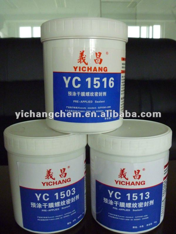 1513 pre-applied thread sealant white color