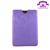 leather pouch case cover for 7 inch tablet universal PU tablet pouch for ipad mini wholesale