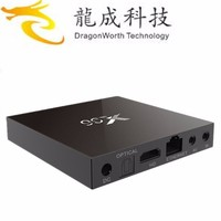 Dragonworth android 6.0 marshmallow tv box amlogic s905 4K quad core x96 works with mobile phone