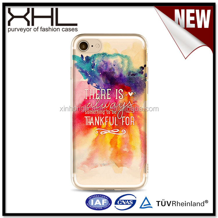 Quicksand phone case for IPhone7plus / 6s creative painted phone shell