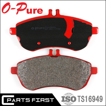 High performance german car racing colored front brake pads brake lining GDB1736 For Mercedes Benz C-class E-Class S-class