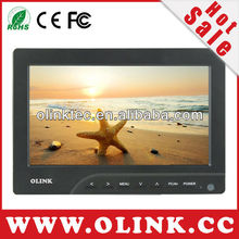 "Olink 7"" economical On-Camera LCD Field Monitor with HDMI, AV, VGA (FM769)"