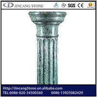 Natural stone decorative column molding