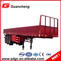 2016 sidewall semi trailer made cargo trailer in China