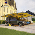 hot sale  New Arrival 2 car carport 4x4 shade awning canvas for medical use high quality