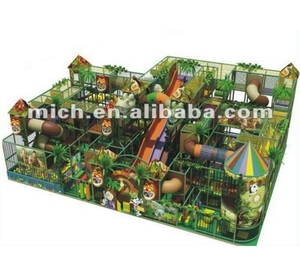 Hottest Selling Safety Cheap 12.5x7.5x5.6m Jungle Animated Theme Indoor Playground
