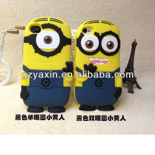 For samsung i9100 3d despicable me case for samsung galaxy s2,beautiful case for samsung galaxy s2 i9100