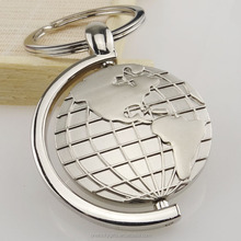 Creative earth design rolling keychain