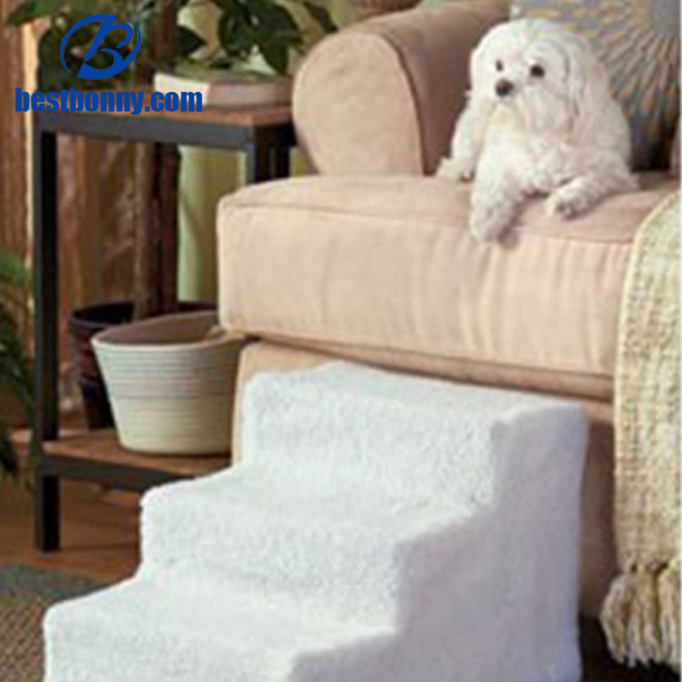 Doggy stairs Pet steps stairs with washable fleece cover