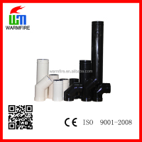 Enamel Single Wall Stove Chimney Flue, Fireplace Chimney Pipe