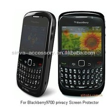 Manufacture price, privacy screen protector for BB 9700
