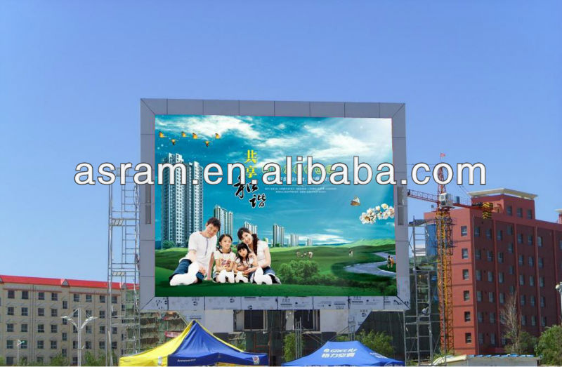 outdoor two side green cross led display double sided outdoor led open sign