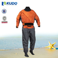 Top Grade 3 Layers Breathable Nylon Kayak Drysuit OEM Production Kayak Dry Suit