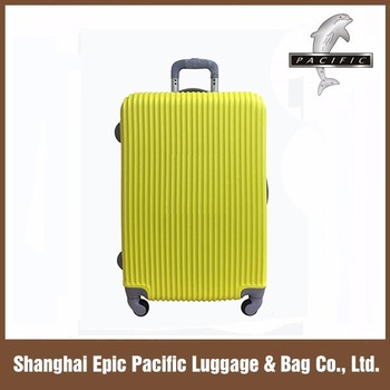 ABS travel luggage Alibaba china abs luggage sets abs trolley luggage