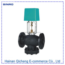 3 inch directional injector motorized control globe flanged ball valve