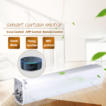 Electric curtain, motorized curtain, home curtain automation FOR Smart Home