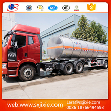 trailer, trailer truck ,aluminum alloy tri-axle hydrochloric/sulfuric acid tanker