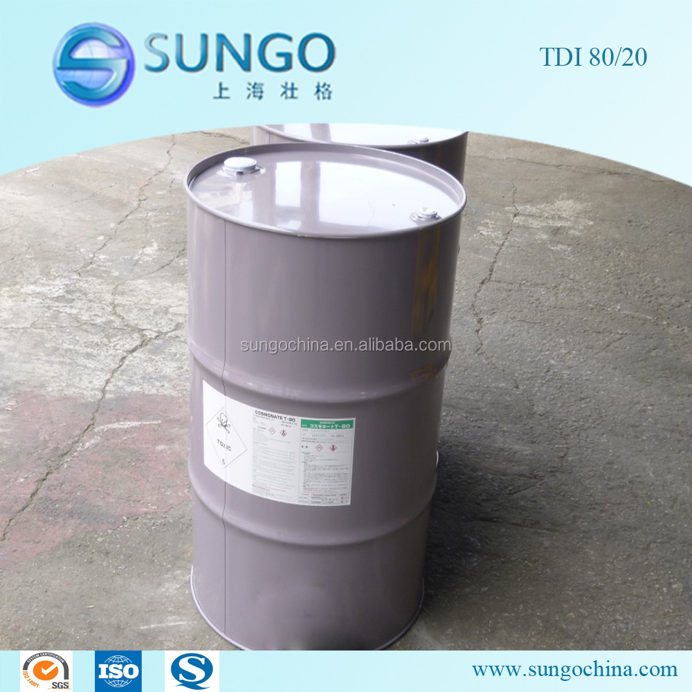 PU Foam Raw Material Toluene Diisocyanate 80/20 (TDI 80/20) best quality & competitive price