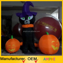 2015 high quality most popular inflatable airblown pumpkin for halloween decoration/holiday inflatable