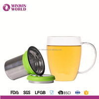 Hot New Products For 2016 New Business Ideas Creative Pyrex Glass Brewing Tea Cup