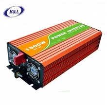 Pure sine wave power inverter 1500W off-grid dc to ac 12vdc 24vdc 220vac 240vac