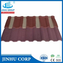 JINHU color stone coated steel roofing Milano tile