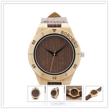 100% natuer bambo wod watch high quality wish online shopping wood watch