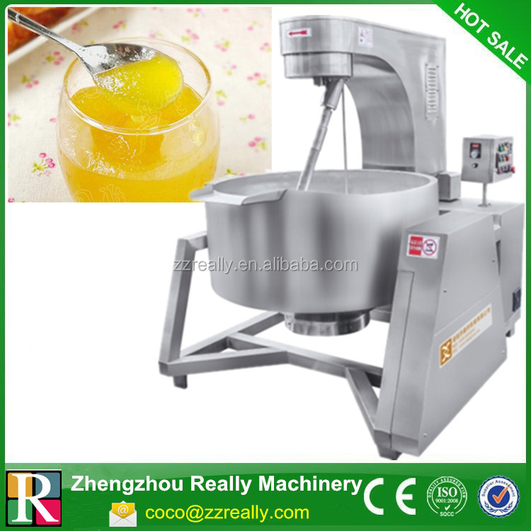 Industrial Cooking Pots With Mixer / Sugar Cooking Jacketed Kettle / Sugar Boiling Pot