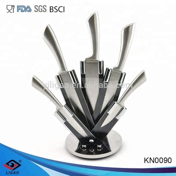 cheap wholesale knives with knife block set , knife set stainless steel