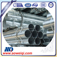 Fire resistant galvanized EMT steel pipe