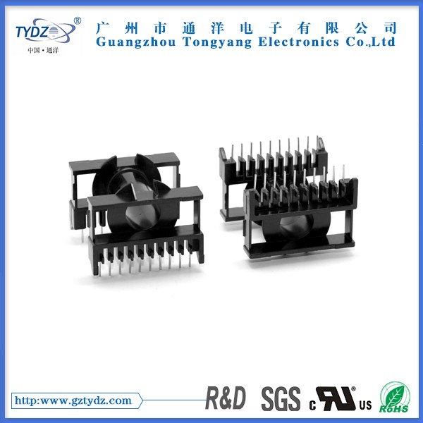 ETD49 High frequency transformer for 10+10 bobbin and soft ferrite core with RoHS