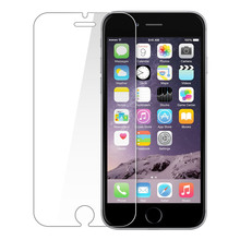 Free Shipping Tempered Glass Screen Protector For iphone 6 , Mobile Phone Toughened Glass Film With Retail Package