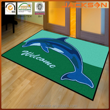 Logo Branded Welcome Mat For Advertising