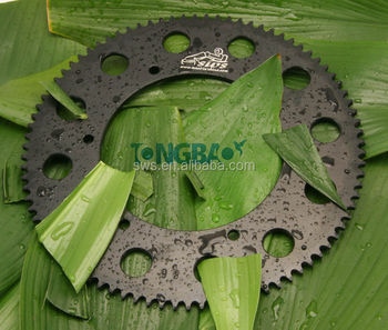 kart parts aluminum #219 pitch sprocket hard anodized for karting