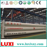 559x11580 tube trailer steel cylinder cng container , natural gas storage