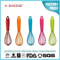 cooking tools Silicone Egg beater of cookware and kitchenware