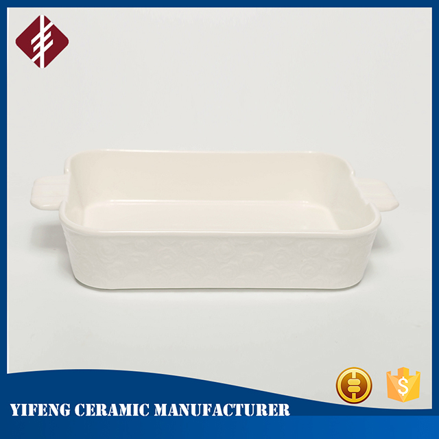 New design rectangle ceramic baking dish/ceramic baking pans