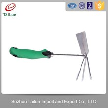 High Quality 2Cr13 Stainless Steel Garden Rake Hoe With Soft Handle