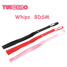 YUE CHAO Whip With Handle Lash Strap Sex Toys Couple Adults Game Flog Toy Spanking Whips Fun Sexy Cosplay