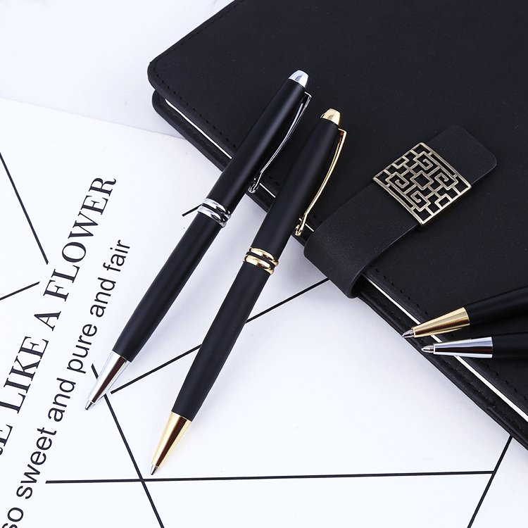 2018 popular promotional gift ball point pen with writing instrument