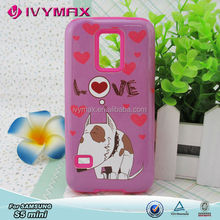 Case for samsung galaxy s5mini hard pc back cover