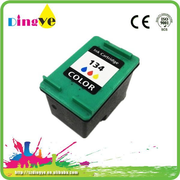 Top rate compatible for hp 134 ink cartridge C9363H for hp