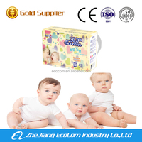 Awesome ultimate protection against leakage baby diaper factory