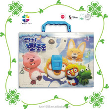 Made In China New Products Design Educational Kids Paper Puzzle Toy with Suitcase