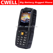 Uniwa F8 2.4 inch Quad Band Dual SIM High Light Torch IP67 Waterproof Mobile Phone Low Price